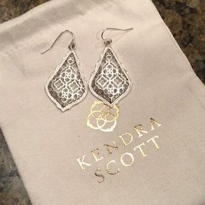 Kendra Scott Earrings Silver